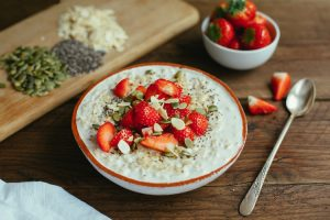 Porridge serving suggestion