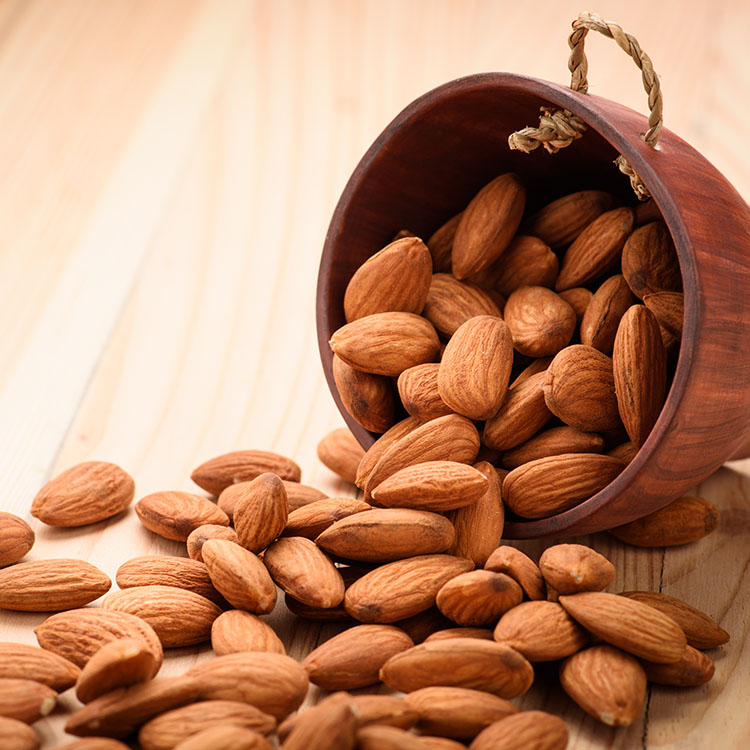 Organic Whole Almonds 1kg