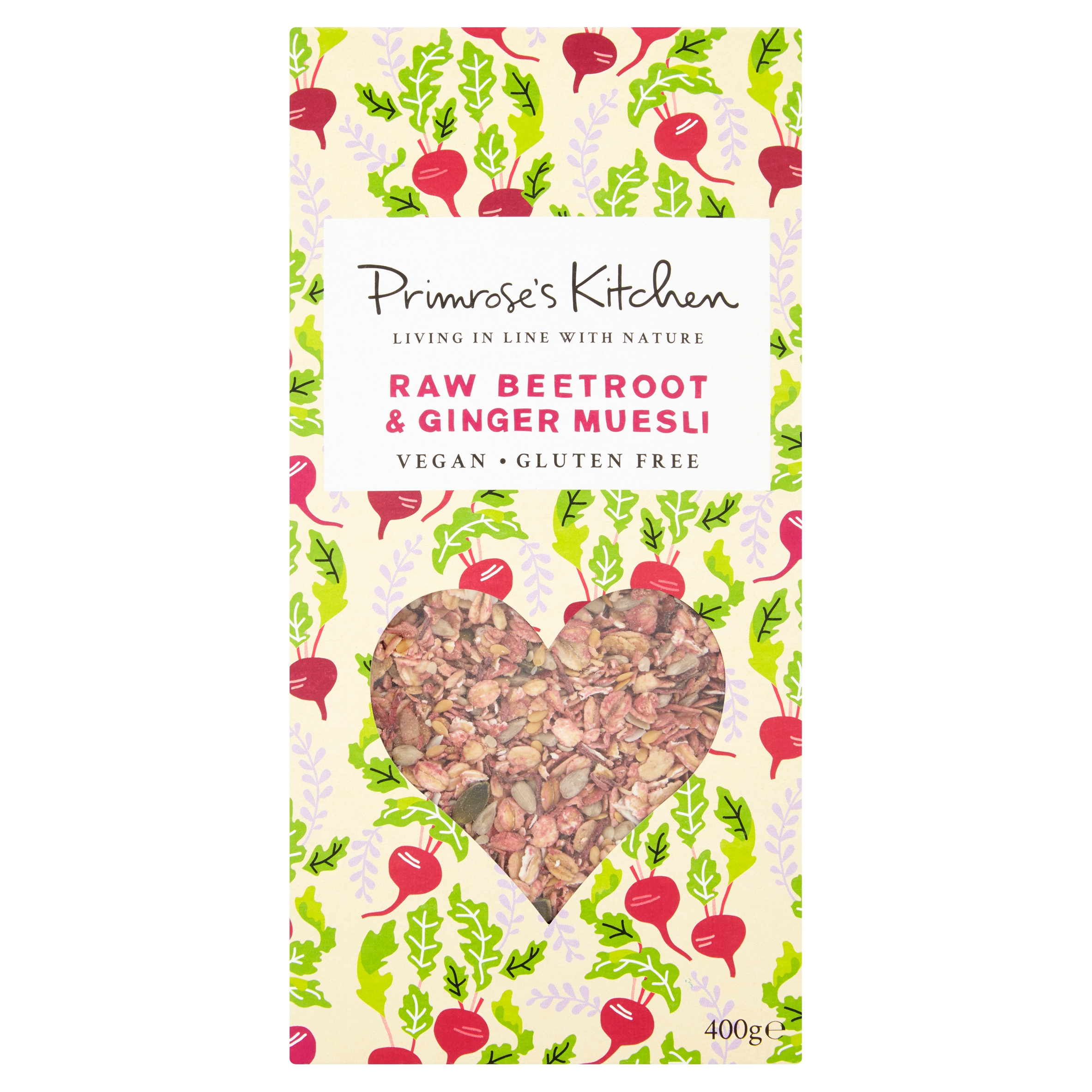 Raw Beetroot & Ginger Muesli 400g