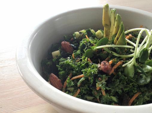 New Year Kale And Nori Salad
