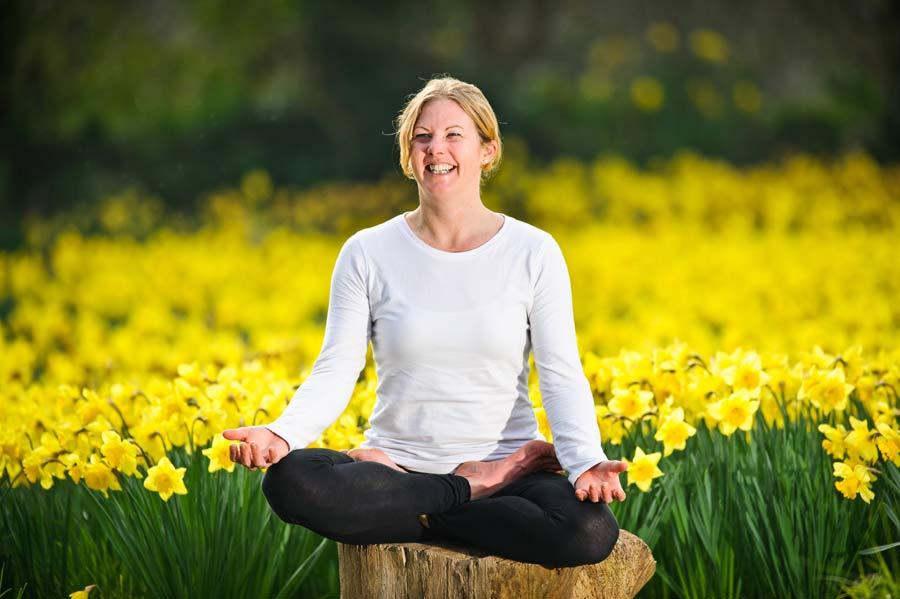 Pose Of The Month- March Padmasana (Lotus Pose)
