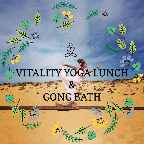 Vitality Yoga Lunch & Gong Bath